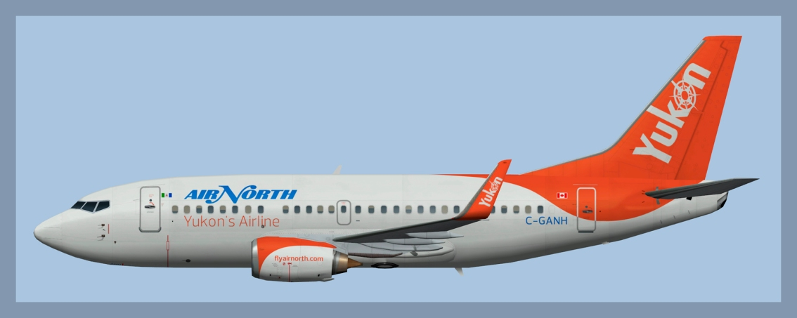 Air North Boeing 737-500 Winglets