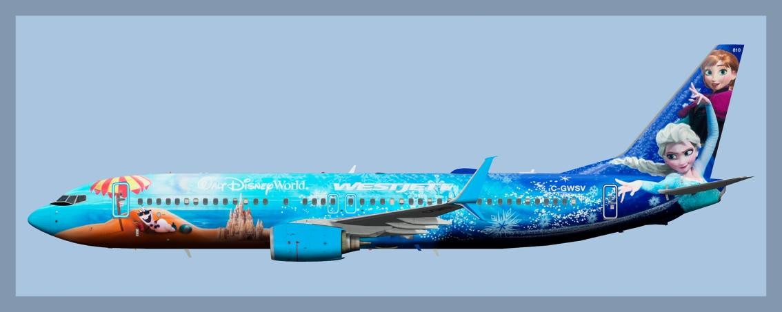 Westjet Boeing 737-800 Fleet(FSP)