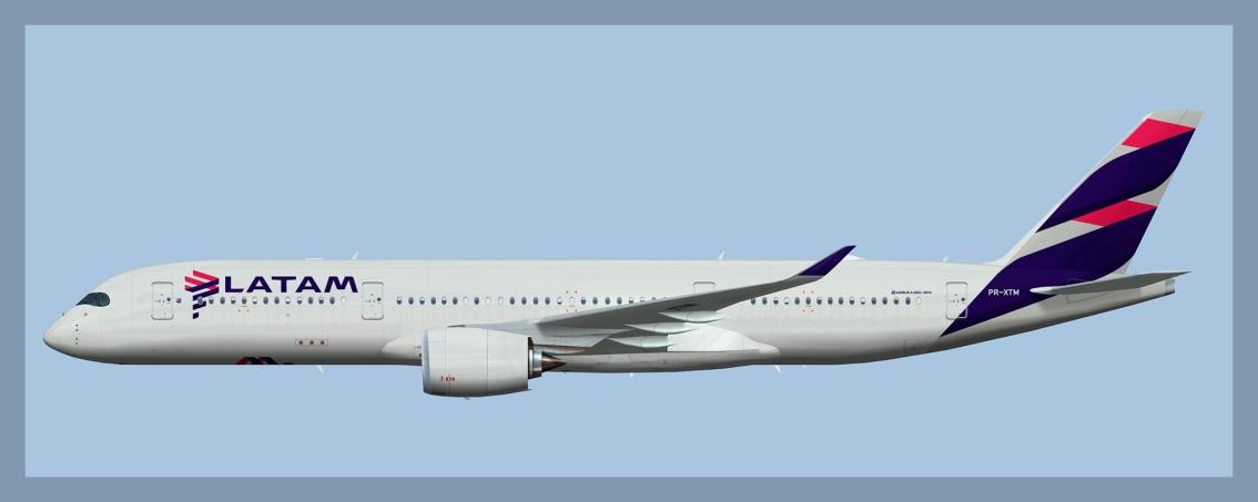 LATAM Brasil Airbus A350-9002020