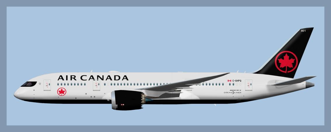 Air Canada Boeing 787-82020