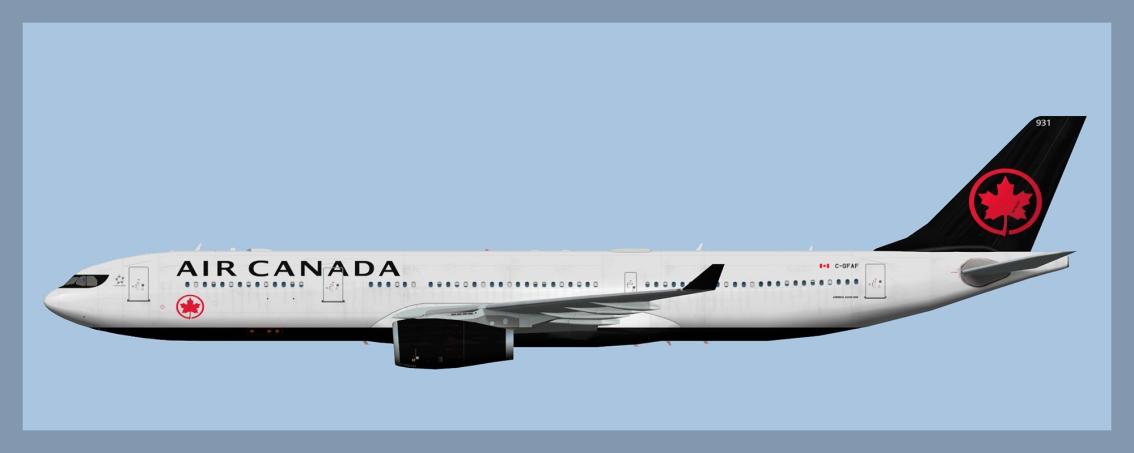 Air Canada Airbus A330-3002020