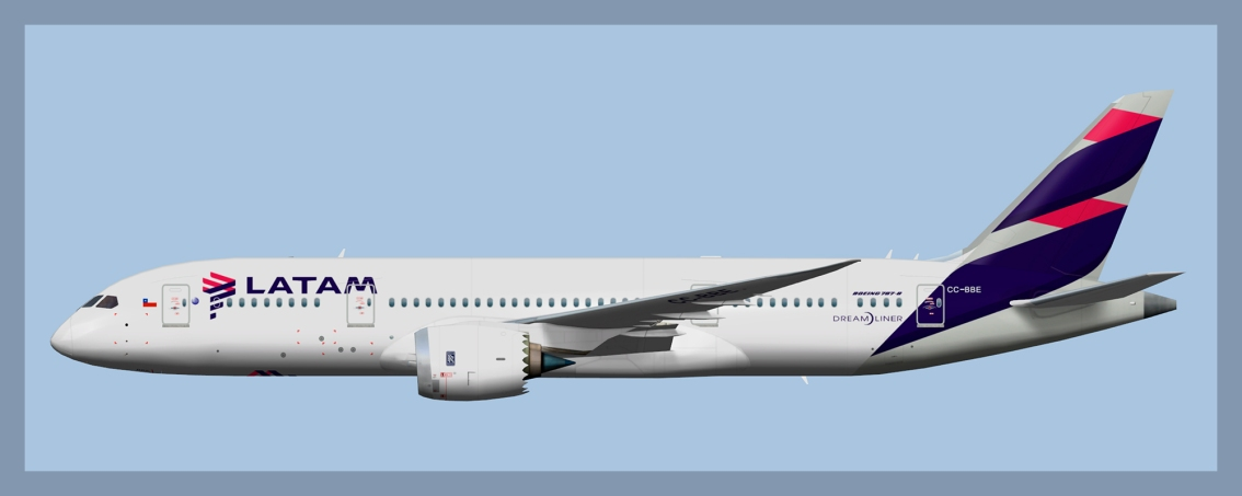 LATAM Chile Boeing 787-82020