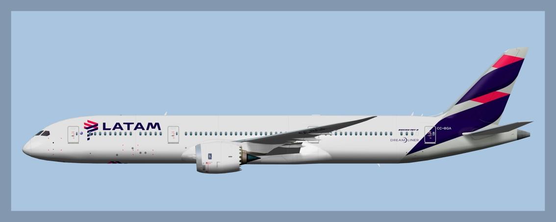 LATAM Chile Boeing 787-92020