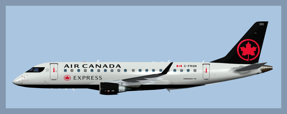 Air Canada Express Embraer E175 Fleet
