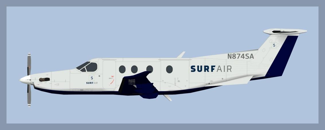 Surf Air PilatusPC-12