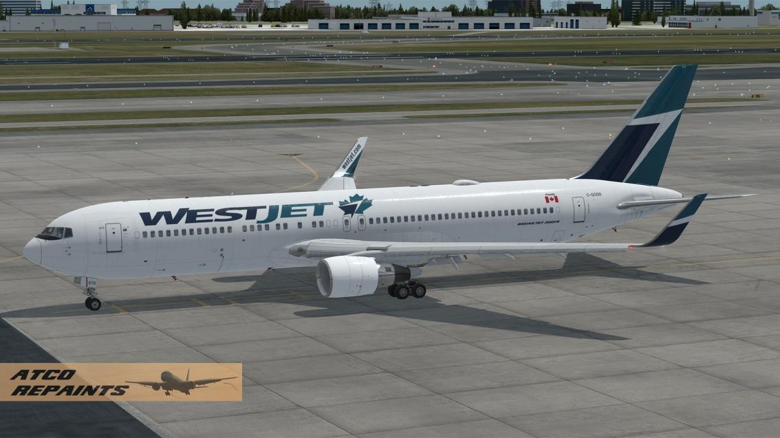 Captain Sim: Westjet Boeing767-300ER