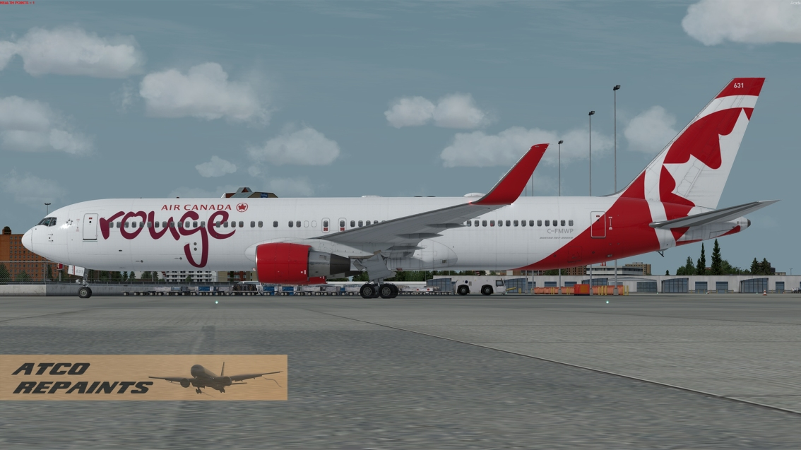 Captain Sim: Air Canada Rouge Boeing 767-300ER