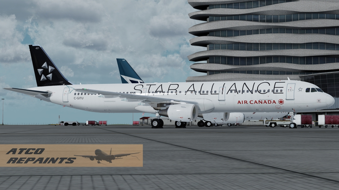 FSLabs Airbus A321V5 Air Canada – C-GITU Star Alliance