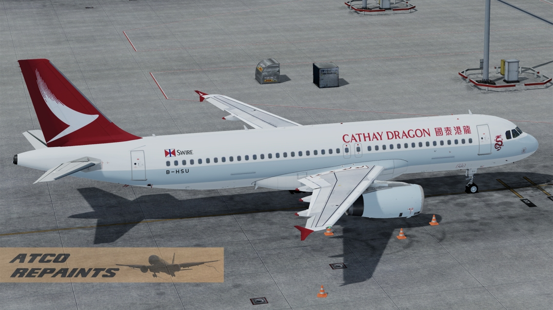 FSLabs Airbus A320V5 Cathay Dragon
