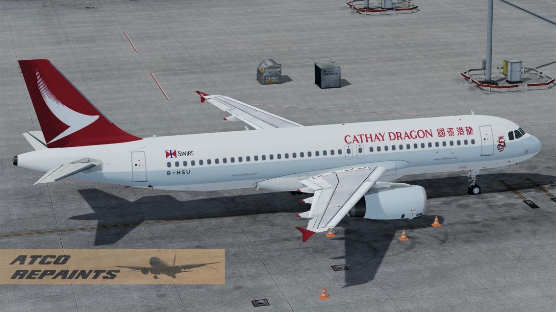 FSLabs Airbus A320V5 CathayDragon