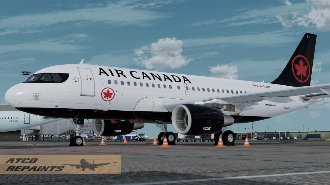 FSLabs Airbus A319V5 Air CanadaNC