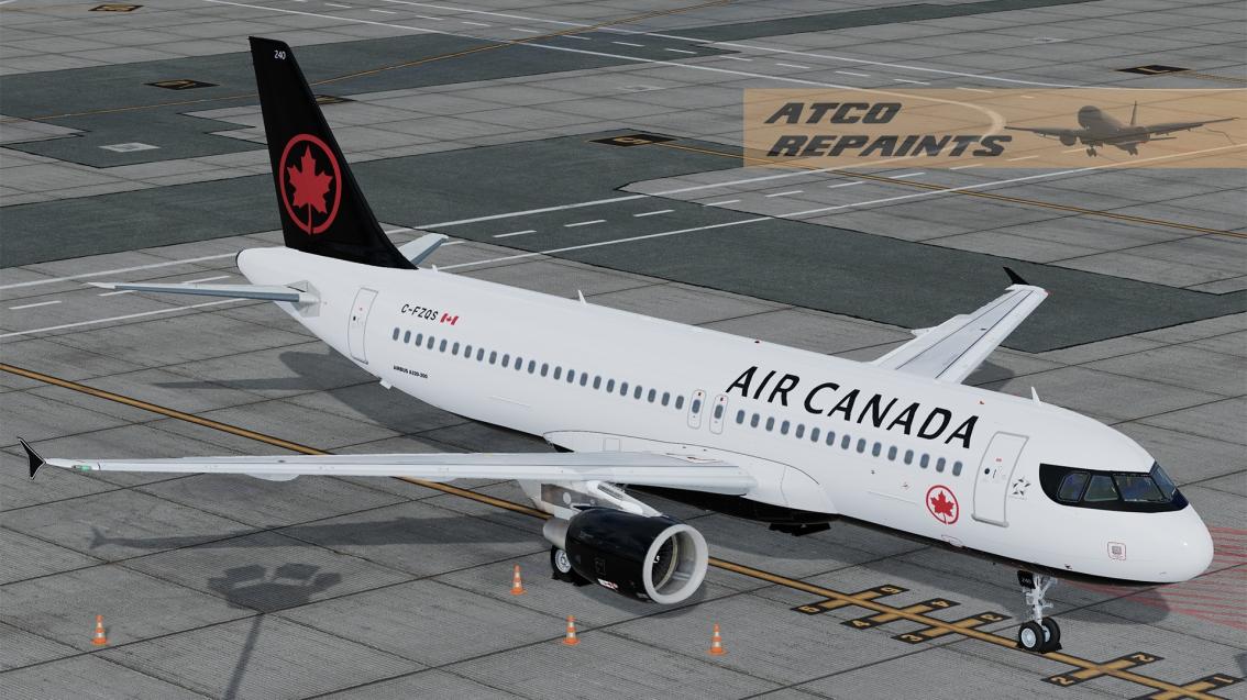 FSLabs Airbus A320V5 Air CanadaNC