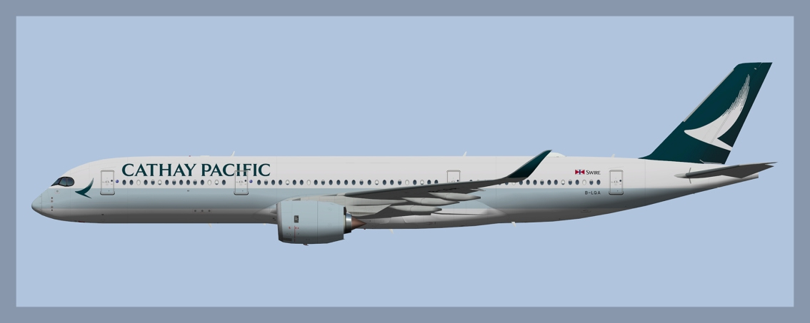UTT Airbus A350-900 Cathay Pacific