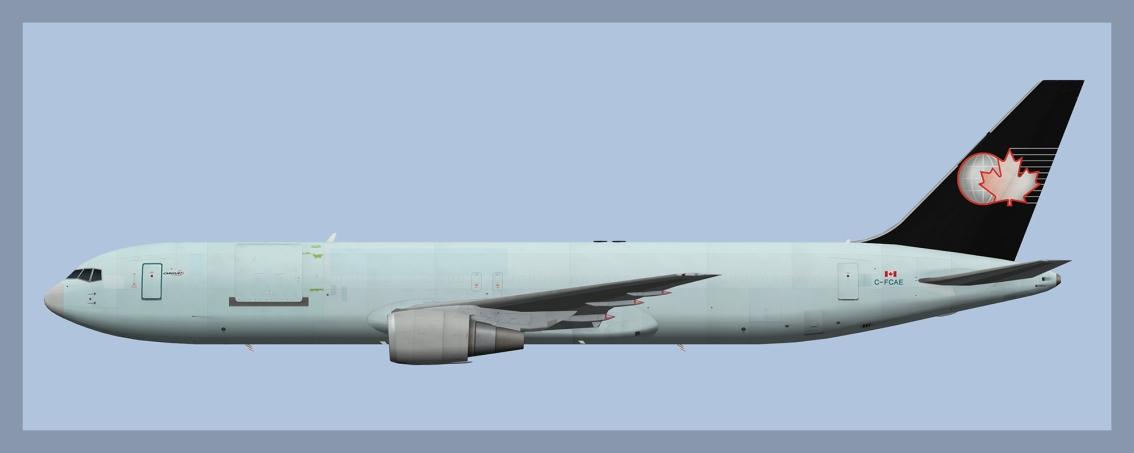 Cargojet Boeing 767-300C-FCAE
