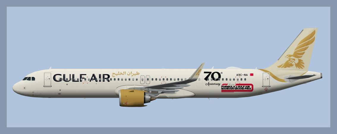 Gulf Air AirbusA321NEO