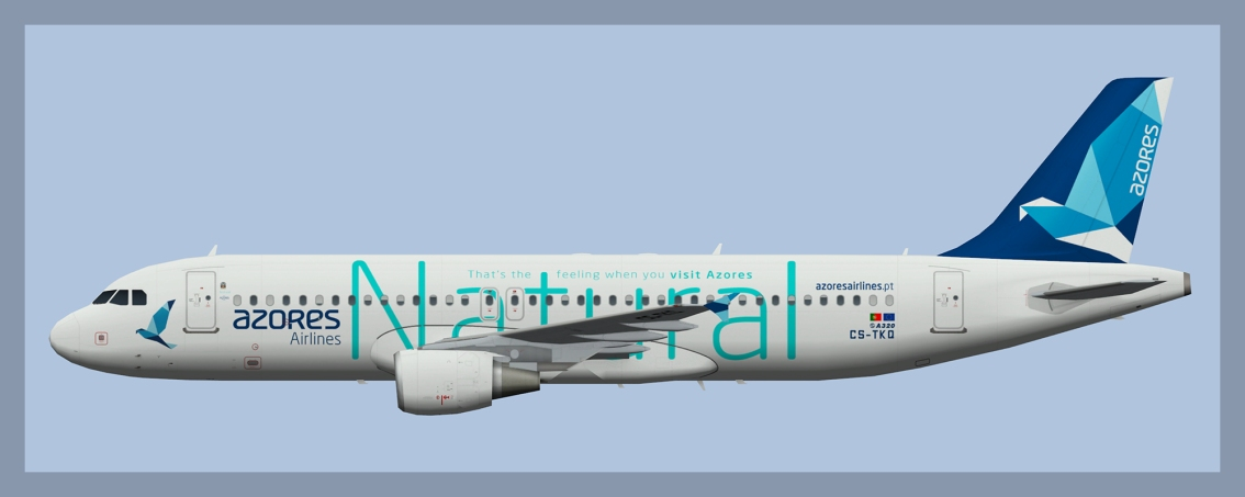 Azores Airlines Airbus A320 2020 Update