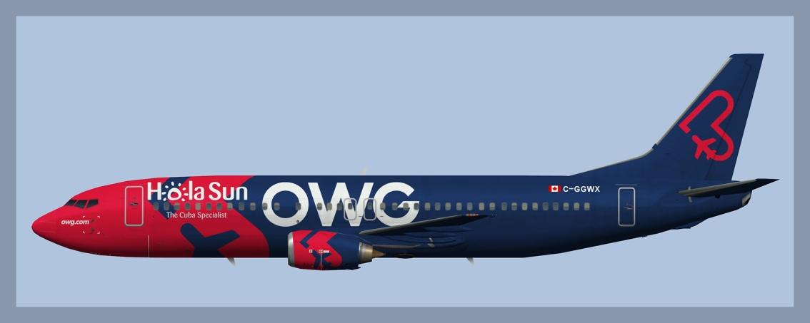 OWG opb Nolinor Boeing 737-400 Fleet –UPDATED