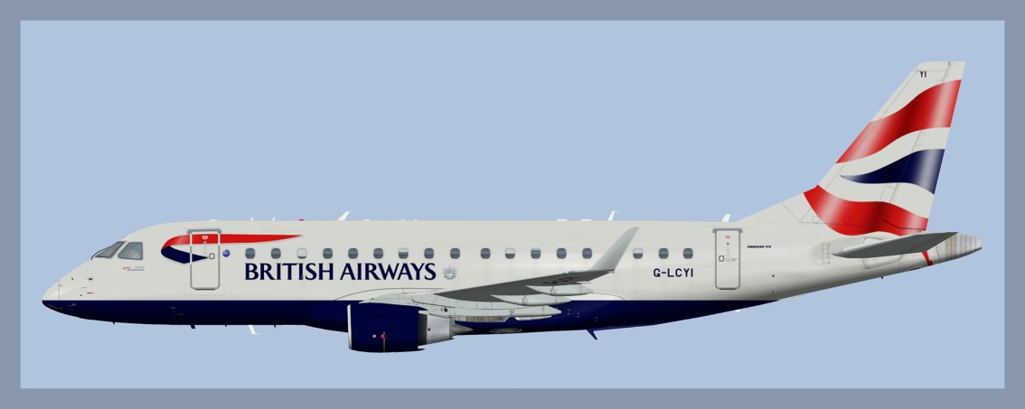 BA Cityflyer Embraer E170(FSP)