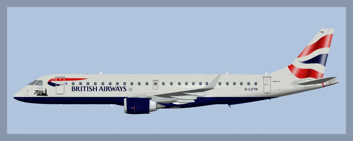BA Cityflyer Embraer E190 Fleet(FSP)