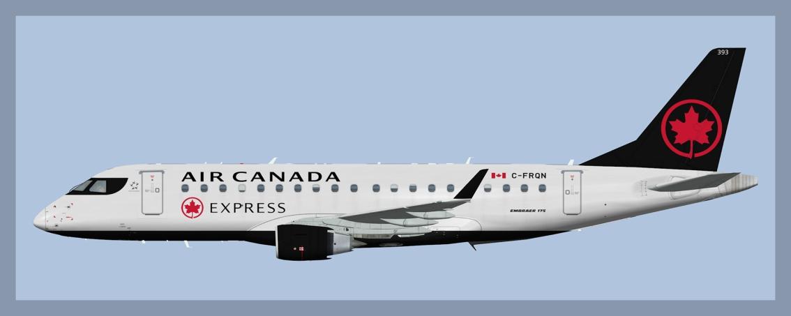 Air Canada Express Embraer E175 Fleet(FSP)