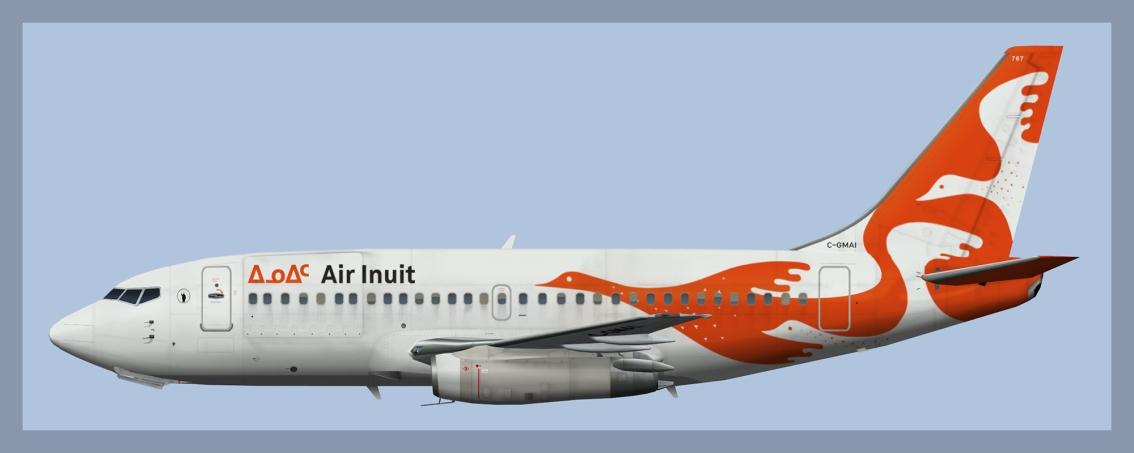 Air Inuit Boeing 737-200Combi
