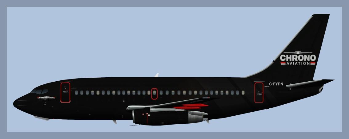 Chrono Aviation Boeing 737-200Fleet
