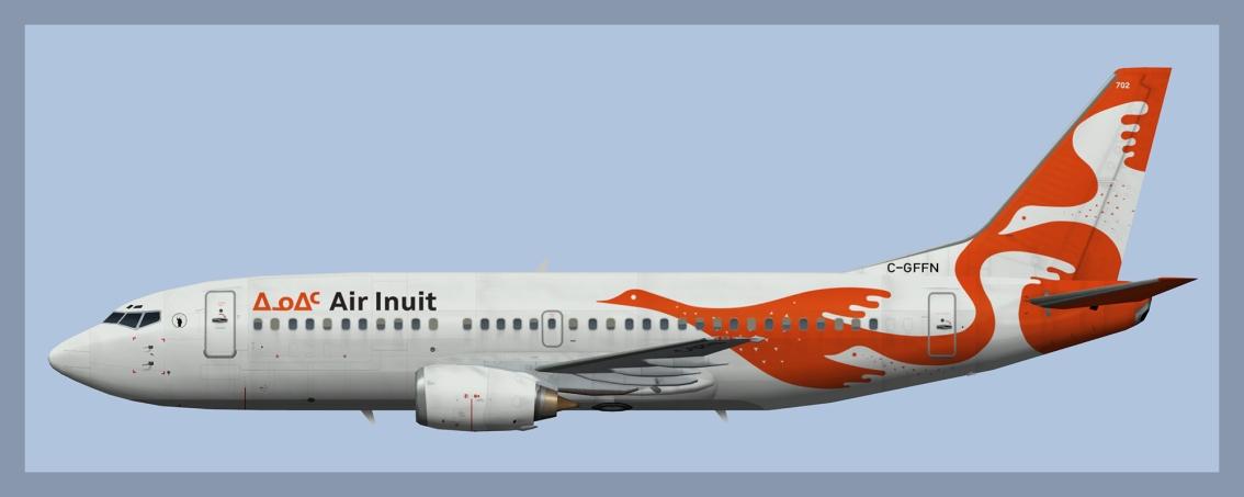 Air Inuit Boeing 737-300Combi