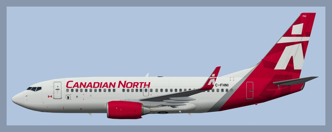 Canadian North Boeing737-700