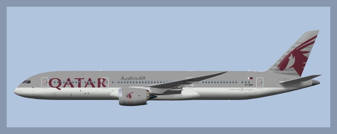Qatar Airways Boeing 787-9(FSP)