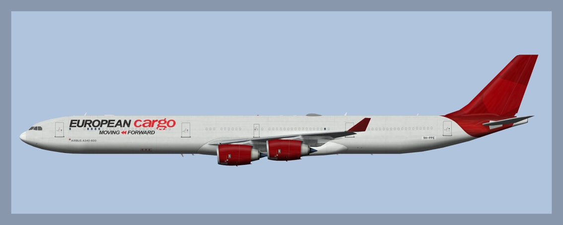 European Cargo Airbus A340-600 opb Maleth-Aero Fleet2021