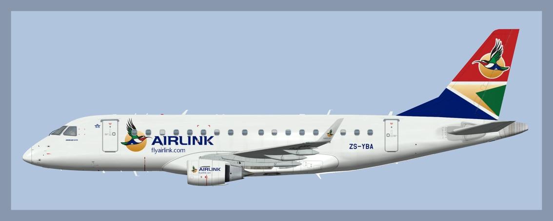 Airlink Embraer E170 OC(FSP)