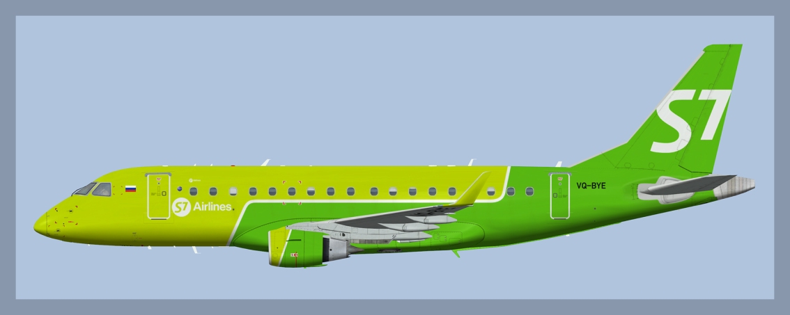 S7 Airlines Embraer E170(FSP)
