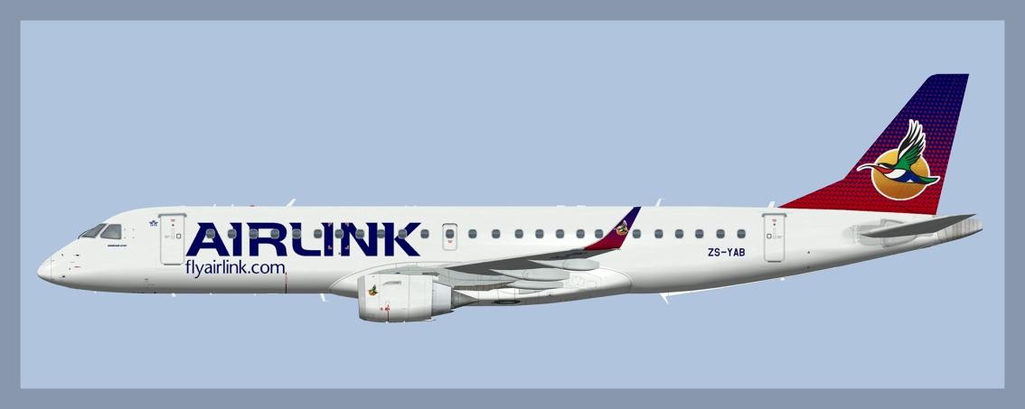 Airlink Embraer E190(FSP)
