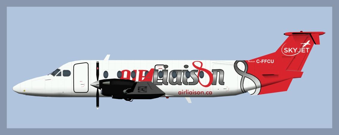 Air Liaison Beech 1900DFleet
