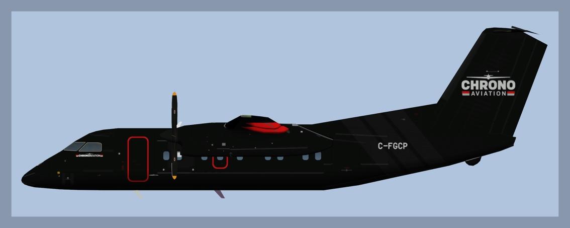 Chrono Aviation Dash8-100