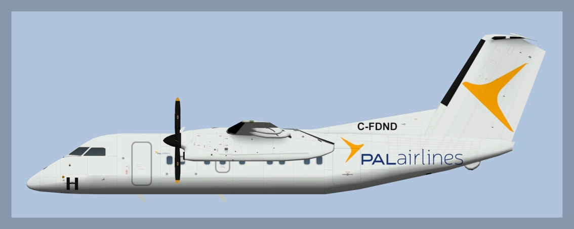 PAL Airlines Bombardier Dash8-100