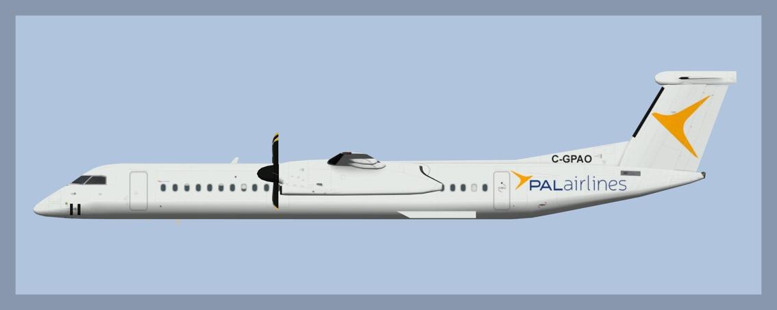 PAL Airlines Bombardier Dash 8-Q400Fleet