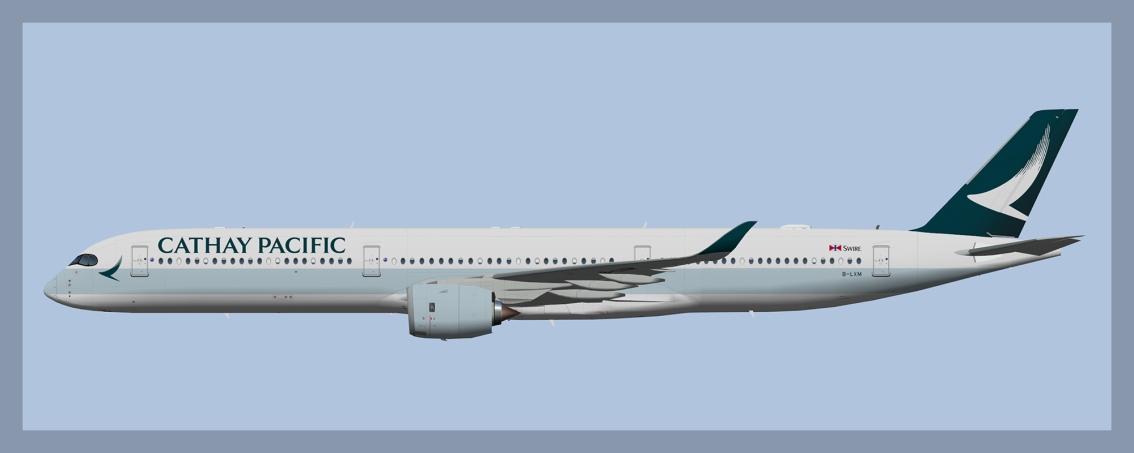 Cathay Pacific Airbus A350-1000(UTT/AIG)