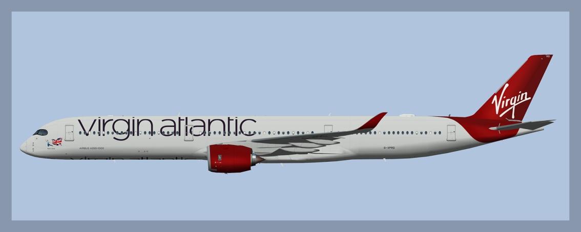 Virgin Atlantic Airbus A350-1000(UTT/AIG)