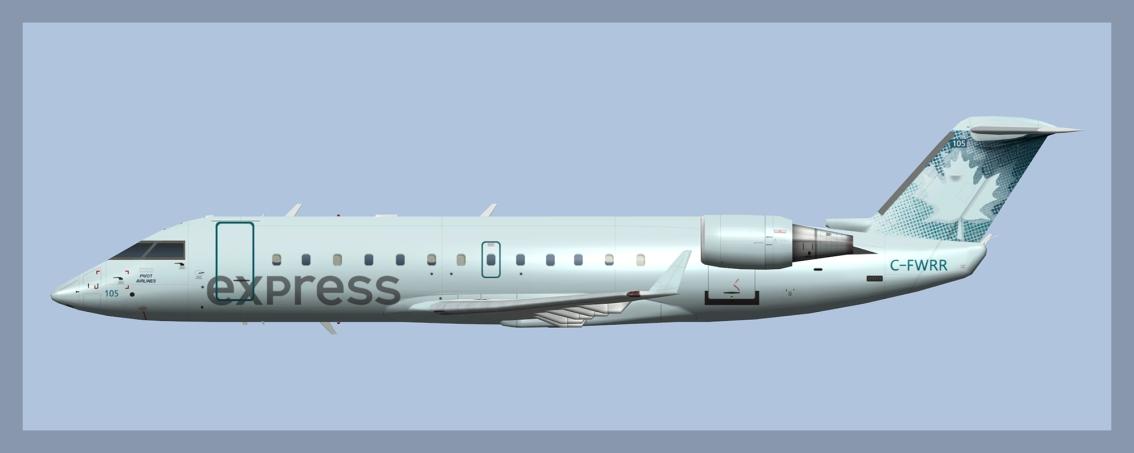 Pivot Airlines BombardierCRJ100